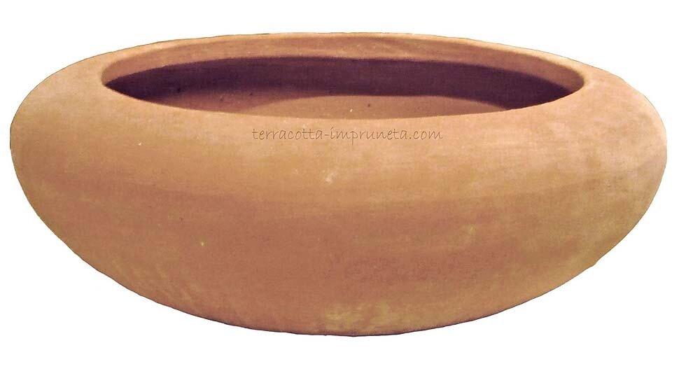Ciotola chiuso - Terracotta-Schale
