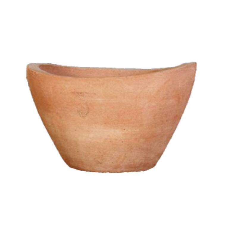 vaso design - Kleine ovale Terracotta-Schale