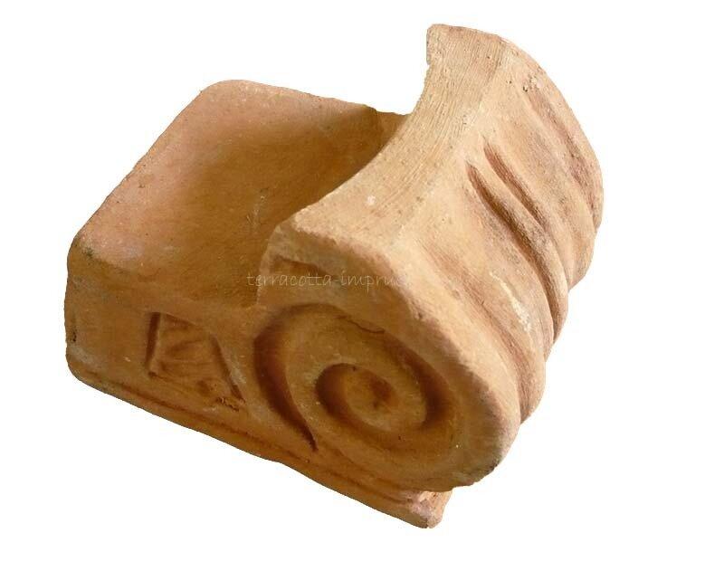 Piedini lumaca - Terracotta-Fuss