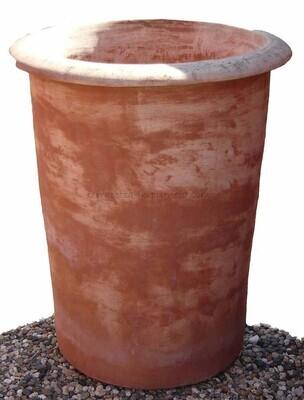 Vaso Maremma - Zylindischer Terracotta-Topf