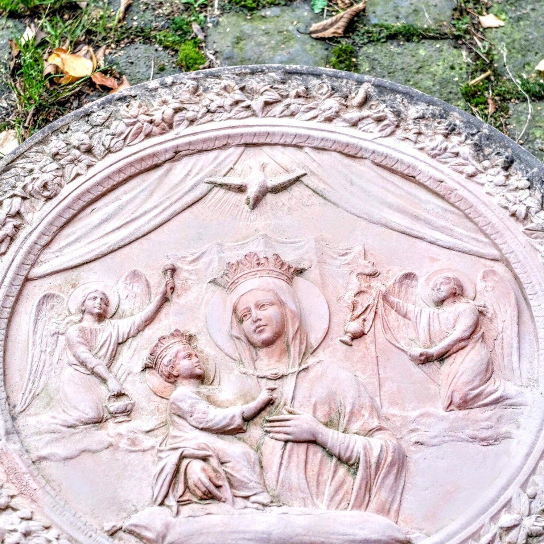 Madonna della Robbia - Terracotta-Wandrelief