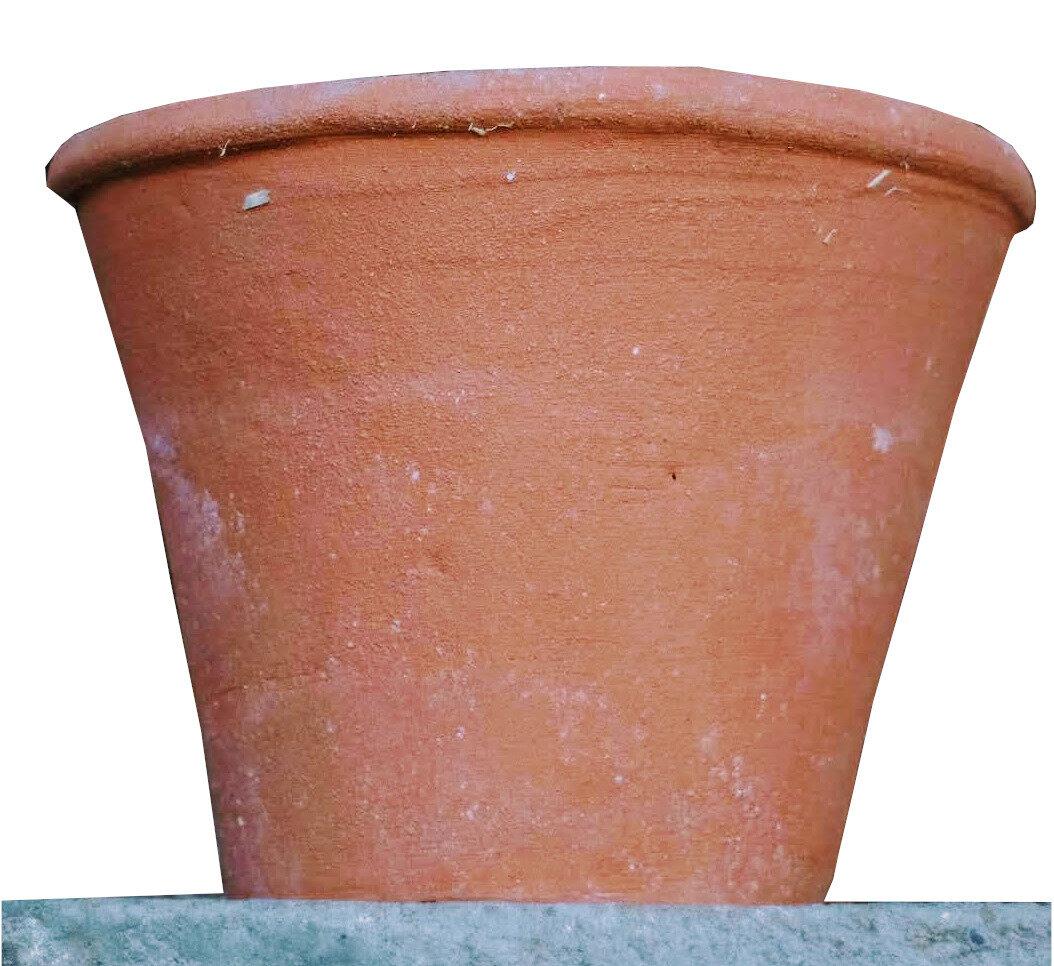 Vaso a nastro  - Schlichter Terracottatopf