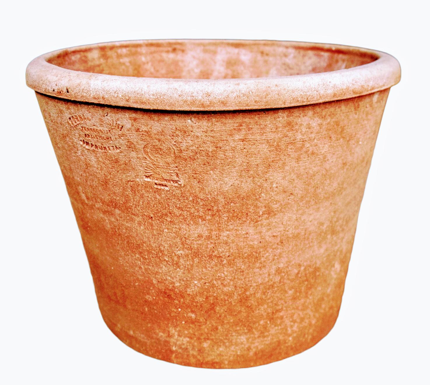 Vaso AG - Schlichter Terracottatopf