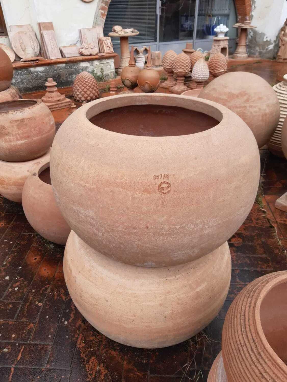 Sfera liscia - Runde Terracotta-Schale