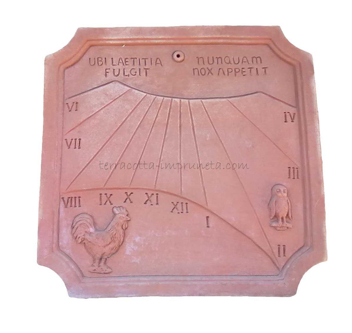 Meridiana Ubi Laetitia - Sonnenuhr