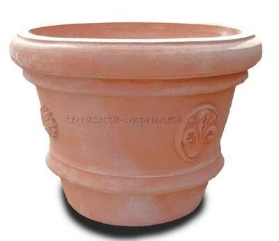 Vaso con stemmi - Vase mit Wappen