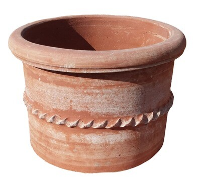 Cilindro liscio - Terracotta-Zylinder
