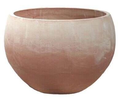 Caspo alto - Hohe Terracotta-Schale
