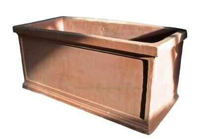 Cassetta liscia bordo - Schlichter Kasten mit Rand