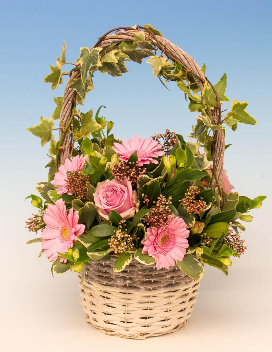 Flowered Basket