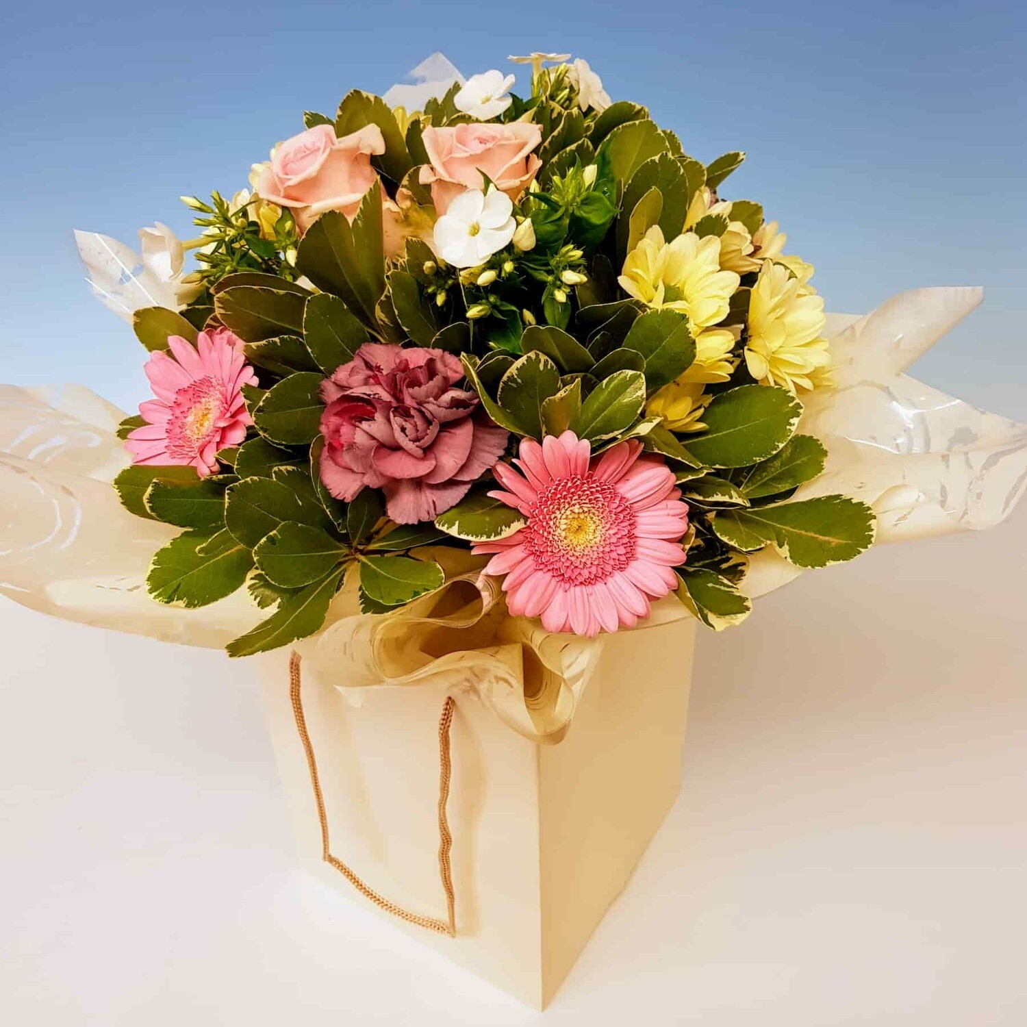 Florist Choice Flower Bag.