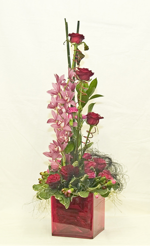Orchid and Rose Tower