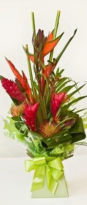 Tropical Handtied Aqua Bouquet