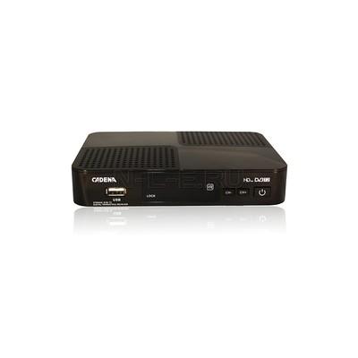 Приемник цифровой эфирный CADENA ST-603AD DVB-T2 Выход RF-модулятора: канал 21~69
