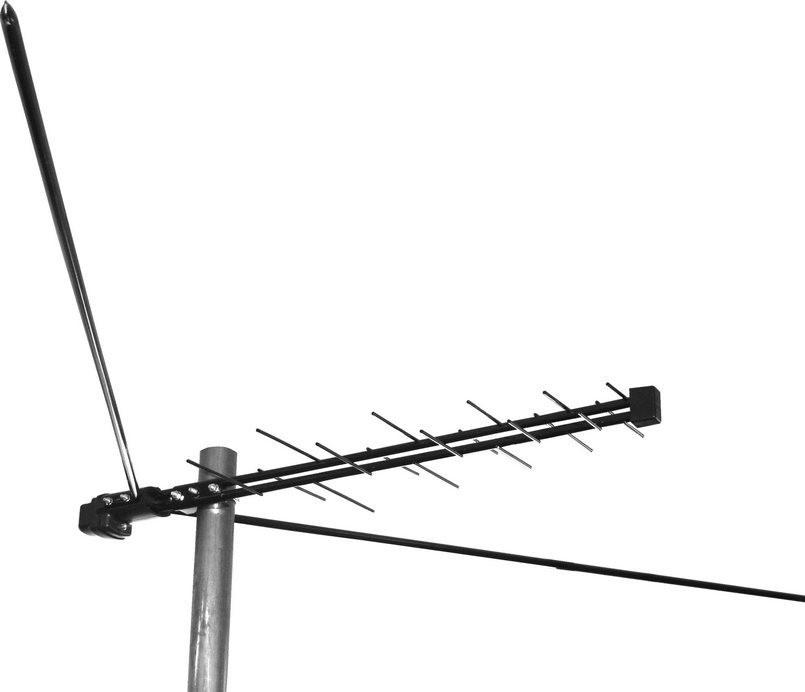 """776 Антенна """"Дельта Н-311А-02"""" б/к уличная ДМВ+МВ на F-коннекторе"""