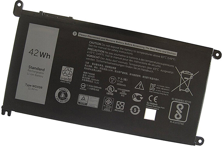 Dell Inspiron 17 5765 5767 T2JX4 FC92N 3CRH3 C4HCW WDXOR  compatible laptop battery