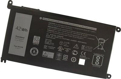 Dell Inspiron 13 5368 5378 7368 7378, WDXOR CYMGM P58F laptop battery