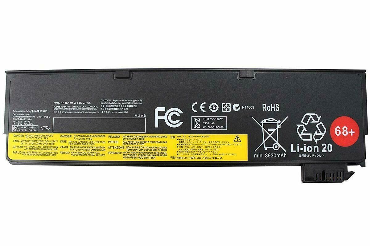 lenovo 45N1128, 45N1129, 45N1130, 45N1131, 45N1132,  45N1134, 45N1136 compatible laptop battery