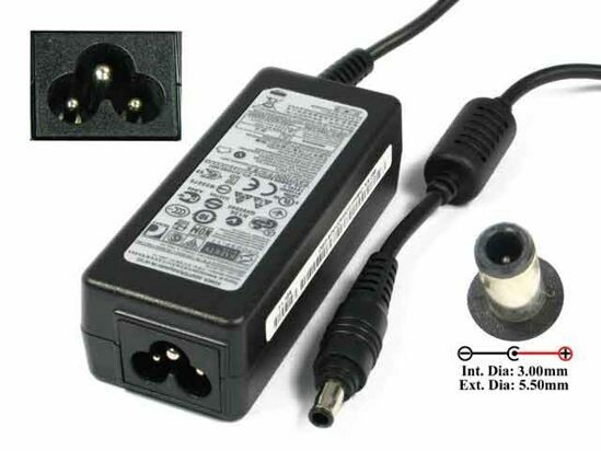 samsung 40w  laptop charger / ac power adaptor for laptop