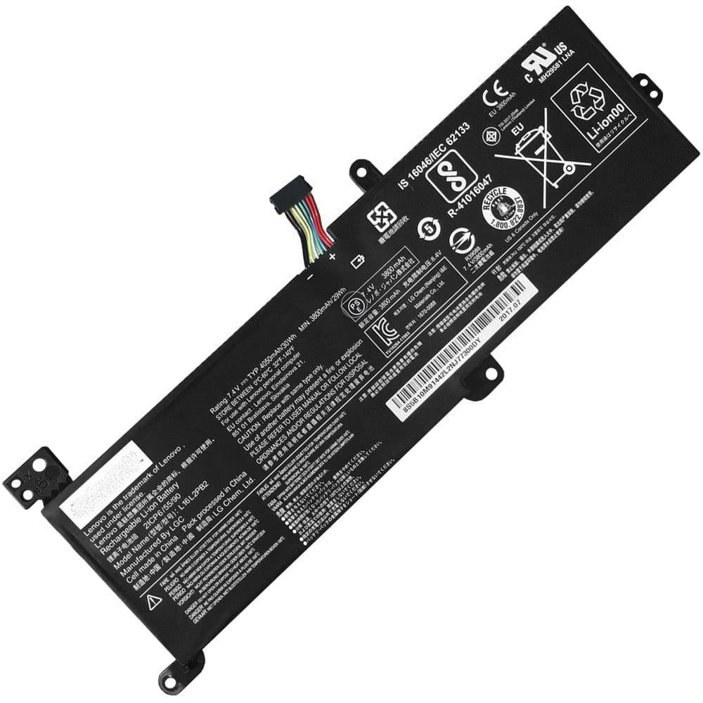 Lenovo ideapad 320, L16C2PB2, L16L2PB1, L16L2PB2, L16L2PB3, L16M2PB2, L16S2PB2 compatible laptop battery