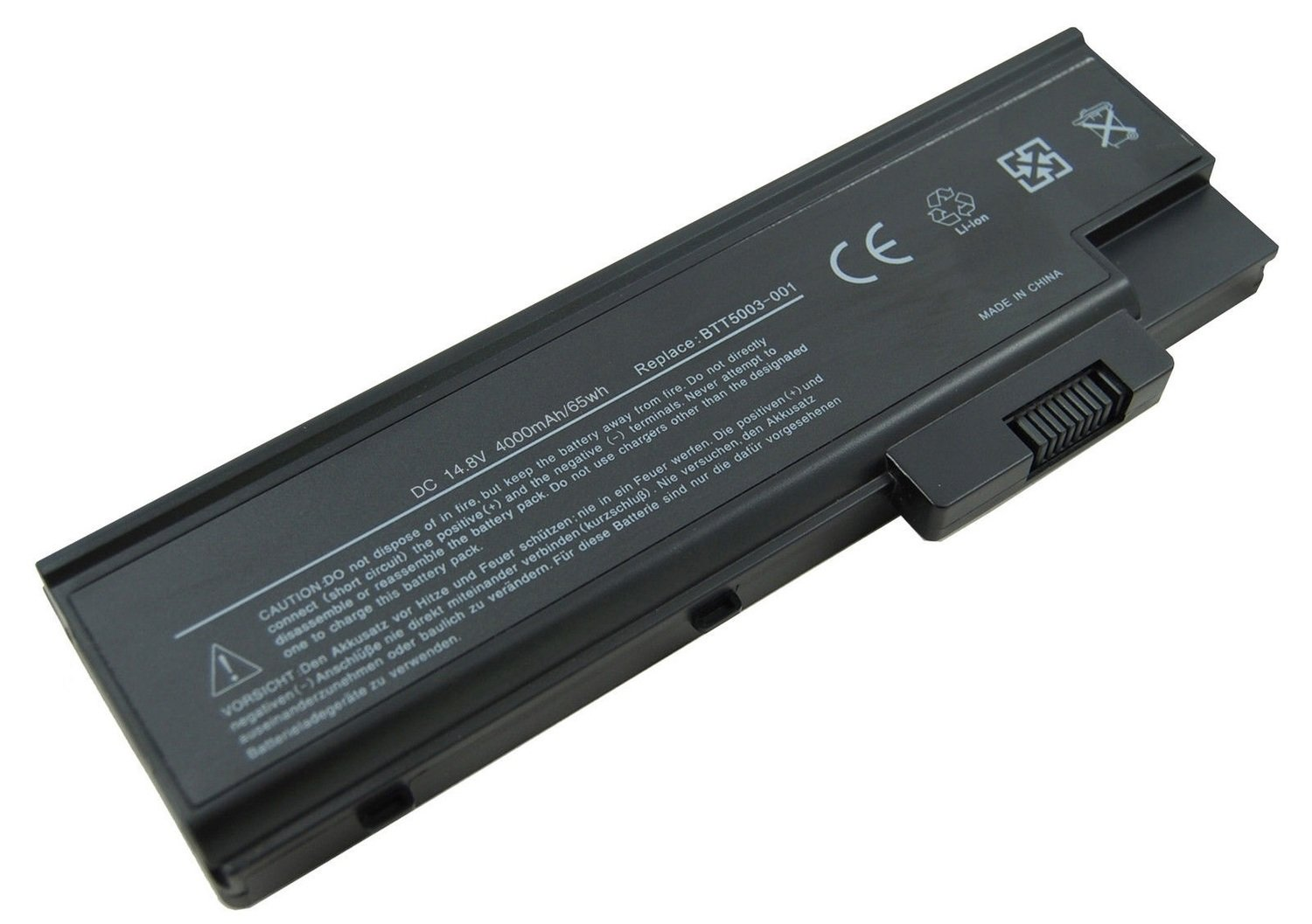 Acer Aspire 1410 1640 1680 1690 3000 3500 5000 acer extensa 2300 3000 4000 acer travelmate 2300 4000 4100 4500 4600 series compatible laptop battery