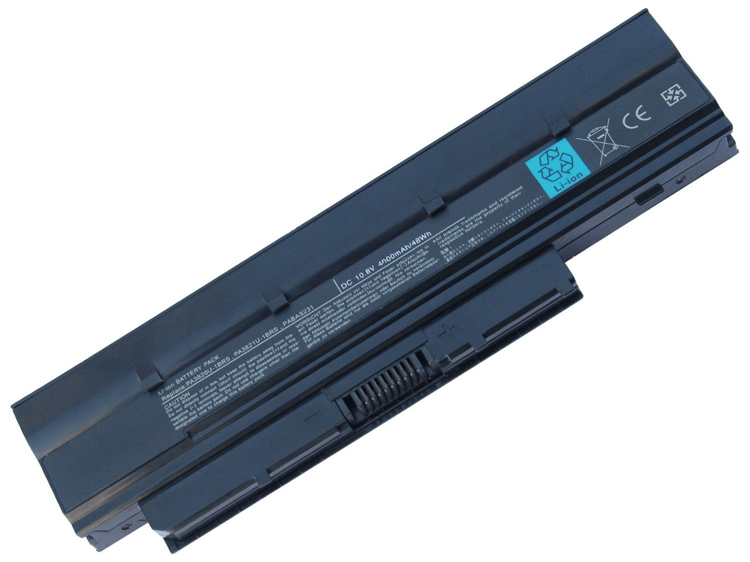 Toshiba mini NB500 NB505 NB525 NB550 Toshiba satellite T210 T215 T230 T235 series Compatible laptop battery