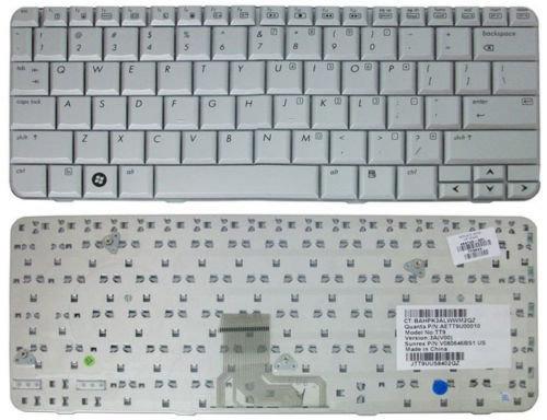 HP Pavilion TX2000 TX2100 TX2500 TX2600 Silver 484748-001 Keyboard