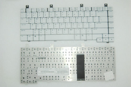 Hp Pavilion ZX5000 ZX5200 ZX5300 Series Notebook White Keyboard