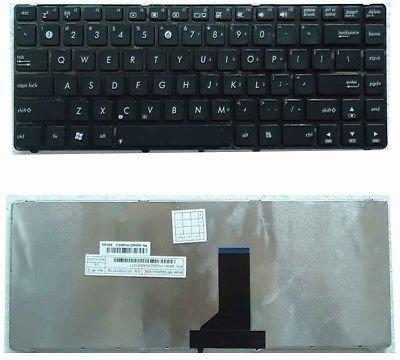 Asus U80, UL80, U81, U82, UL30 Series Black Laptop Keyboard
