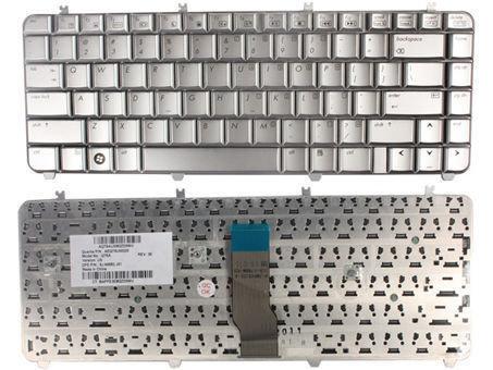 HP Pavilion DV5 DV5T DV5-1000 DV5Z-1000 Silver 488590-001 Keyboard