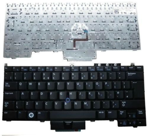 Dell LatItude E4300 Series US Black 0NU956 WP197 Laptop keyboard