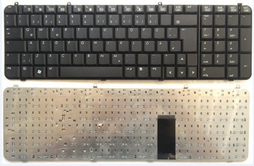 Hp Compaq Pavilion DV9000 DV9100 DV9200 AEAT5U00210 Black Keyboard