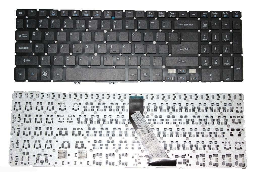 Acer Aspire V5-531 V5-531G V5-551 Series Black Laptop Keyboard