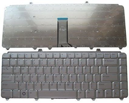 Dell Inspiron M1530 Vostro 1400 1318 1545 Series US Silver keyboard
