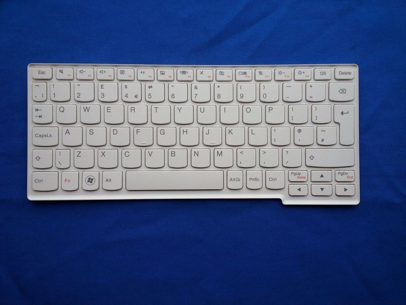 Lenovo Ideapad S205 S205s S206 White 25201667 Laptop Keyboard