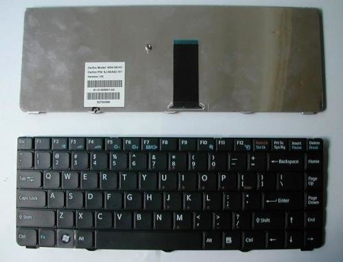 Sony Vaio VGN NR US Black NSK-S6101 9J.N0A82.101 Laptop Keyboard