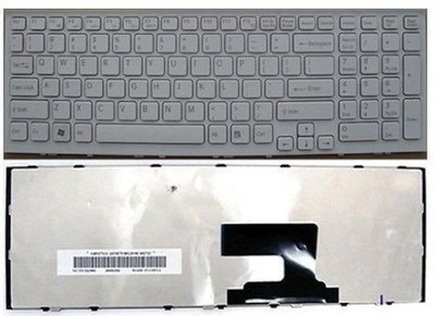 Sony Vaio VPC-EH US White 148971311, 9Z.N5CSQ.301 Laptop Keyboard