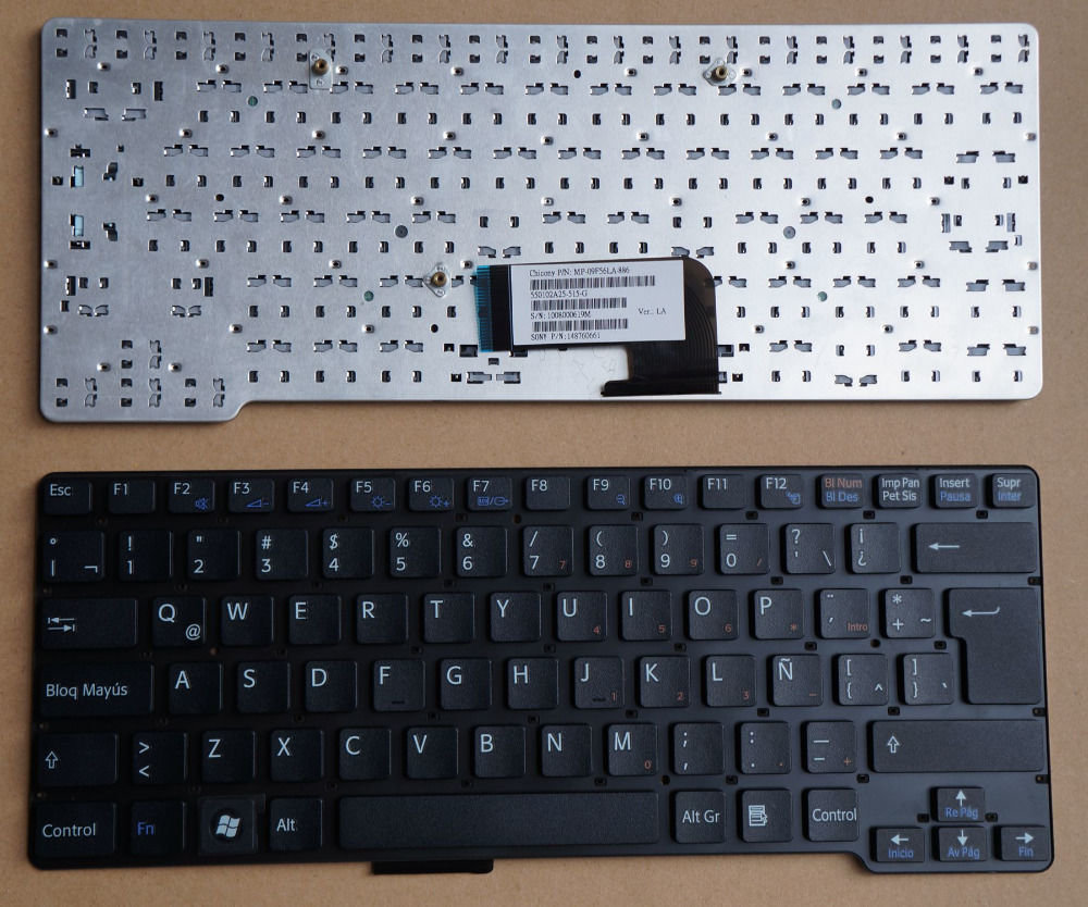 Sony Vaio VPC-CW Black 1-487-557-21 9J.N0Q82.A01 Laptop Keyboard
