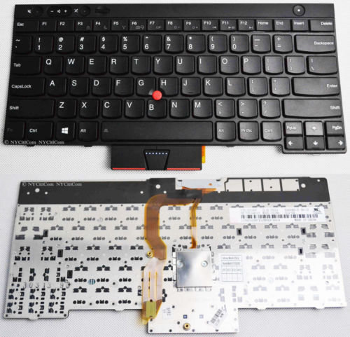 Ibm Lenovo Thinkpad T430 T430I T430S T530 T530I W530 Black Keyboard