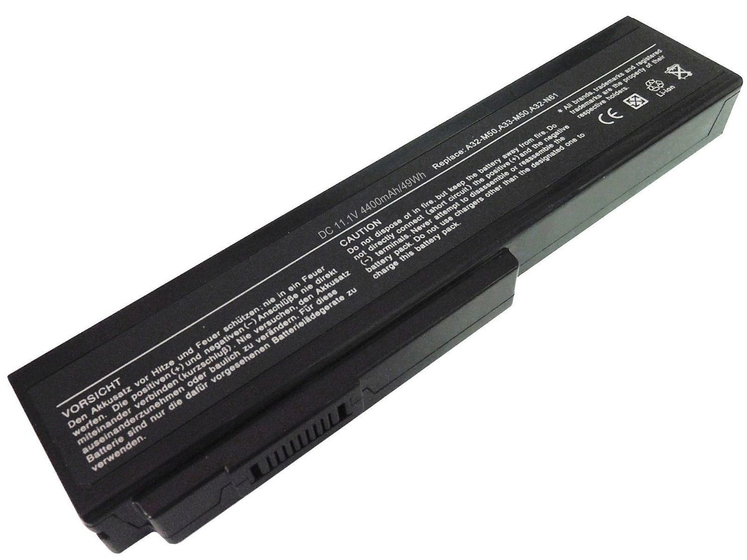 Asus A32-H36 A32-M50 A32-N61 A33-M50 A32-X64 compatible laptop battery