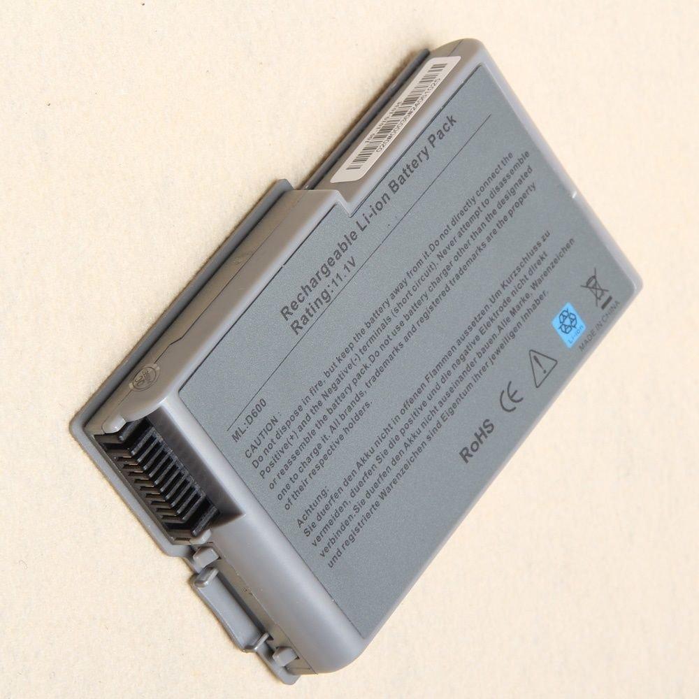 Dell Latitude D500, D505, D600, Inspiron 500M, 600M compatible laptop battery