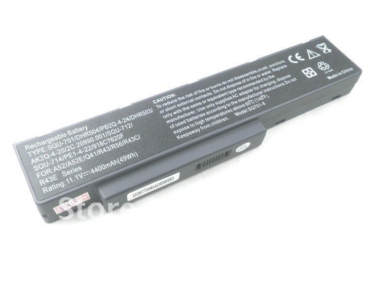 Benq A52 A53 DHR503 Q41 R43 series compatible laptop battery