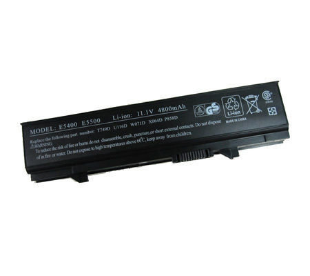 Dell Latitude e5400 e5500 series compatible laptop battery