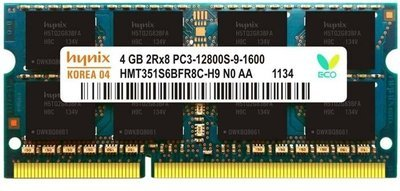 4 GB DDR3 laptop ram with three years manufacturer warranty