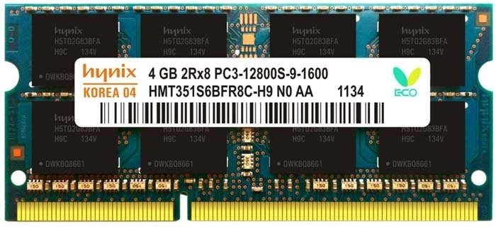 4gb ddr3 laptop ram with three years manufacturer warranty
