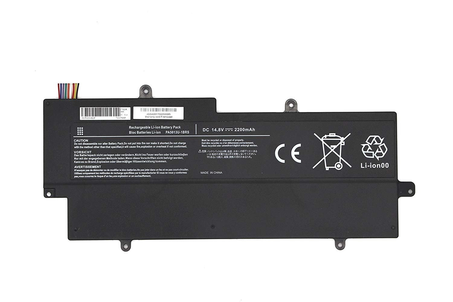 Toshiba Portege Z830 Z835 Z930 Z935 Battery PA5013U-1BRS compatible laptop battery
