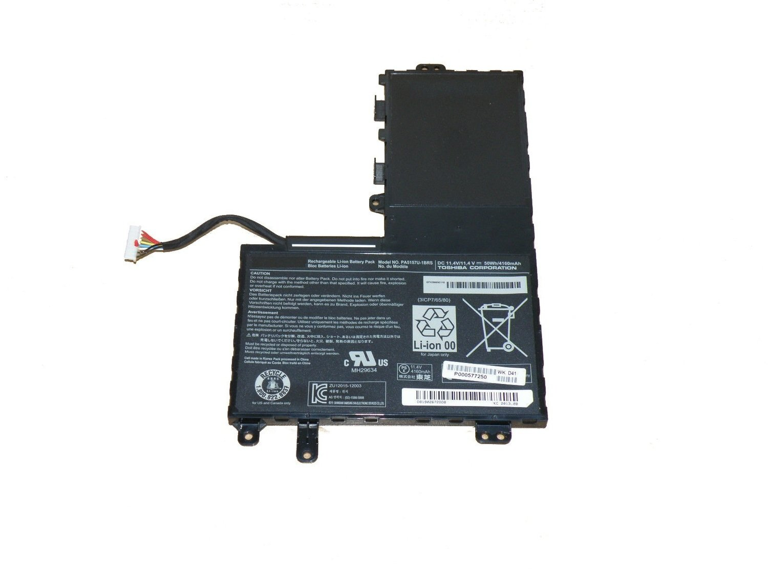 Toshiba PA5157U-1BRS compatible laptop battery