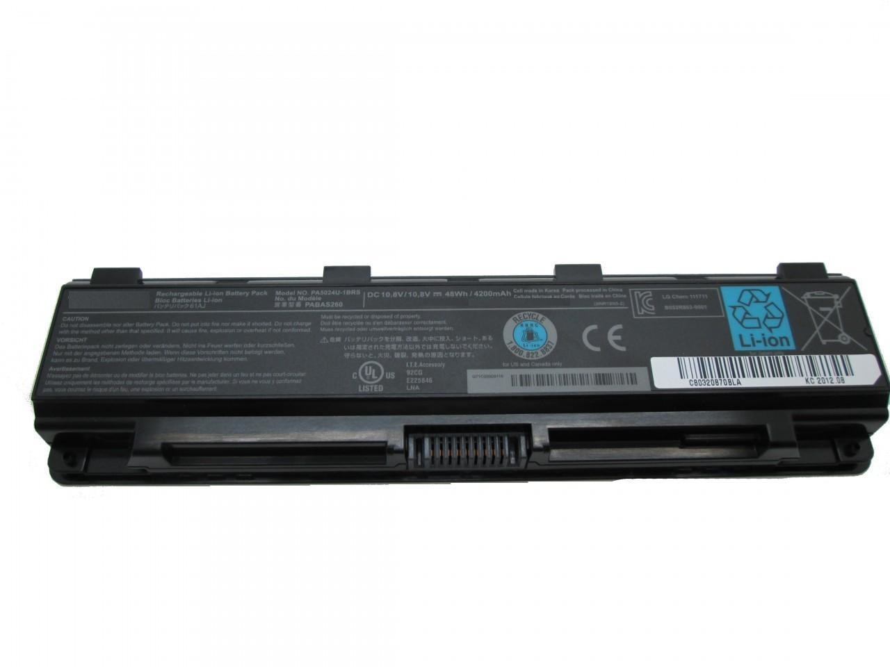 Toshiba satellite PA5110U  PA5027U PA5026U  PA5025U  compatible laptop battery