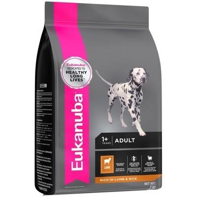 Eukanuba Small And Medium Breed Adult Dog Food - Lamb and Rice