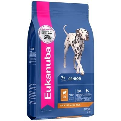 Eukanuba Mature and Senior All Breed Lamb and Rice Dog Food